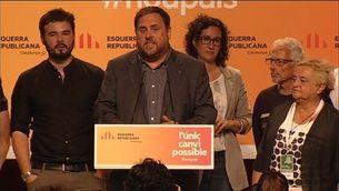 """Junqueras: """"L'Estat espanyol és irreformable, no vol canviar"""""""