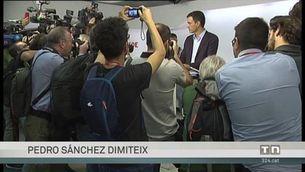 Pedro Sánchez dimiteix