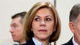 De Cospedal endureix la posició del govern espanyol contra el referèndum (Reuters)