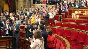 Aprovada la llei del referèndum: 72 vots a favor, 11 abstencions i 52 absents