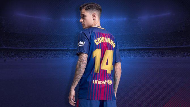 Coutinho portarà al Barça el dorsal 14 que deixa lliure Mascherano