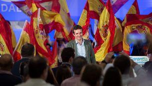 Pablo Casado en un acte pel Dia de la Hispanitat (EFE)