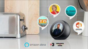Catalunya Ràdio i TV3 a l'Alexa d'Amazon