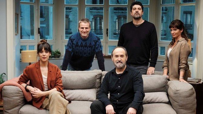"Cesc Gay, Javier Cámara, Griselda Siciliani, Belén Cuesta i Alberto San Juan a ""Sentimental"""