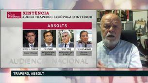 """J. A. Martín Pallín: """"La sentència de l'Audiència Nacional és incoherent en relació amb la sentència del Suprem"""""""
