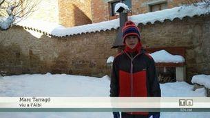 El fred i la neu marquen l'inici del segon trimestre a les escoles