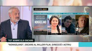 """""""Nomadland"""", guanyadora d'una gala dels Oscars avorrida"""