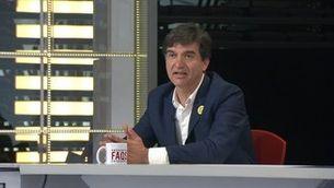 """Sergi Sabrià: """"No ens sembla correcte que el Consell per la República estigui per sobre de l'espai de consens"""""""