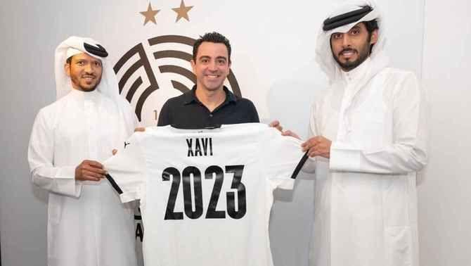 Xavi Hernández renova amb l'Al-Sadd fins al 2023