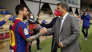 Messi i Laporta