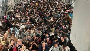 L'èxode de l'aeroport de Kabul, en imatges