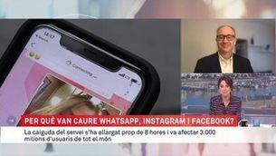 Per què van caure WhatsApp, Instagram i Facebook? Respon Albert Cuesta
