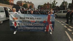 El Regne Unit pressiona la Unió Europea per l'acord duaner a Irlanda del Nord