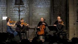 El Quartet Casals a Santa Maria de Vilabertran
