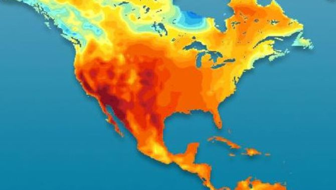 Mapa de temperatures màximes