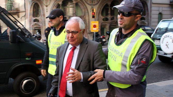 Llibertat sota fiança per al tresorer de CDC, Andreu Viloca