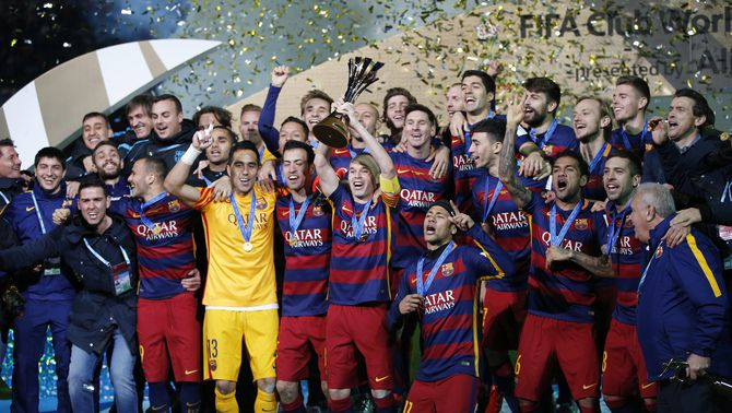 El Barça supera la duresa del River Plate i conquereix el tercer Mundial de Clubs (3-0)