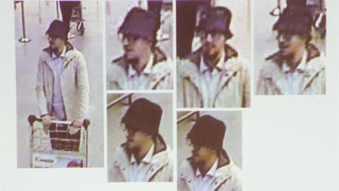 """Detenen sis sospitosos dels atemptats de París i Brussel·les, un dels quals podria ser """"l'home del barret"""""""