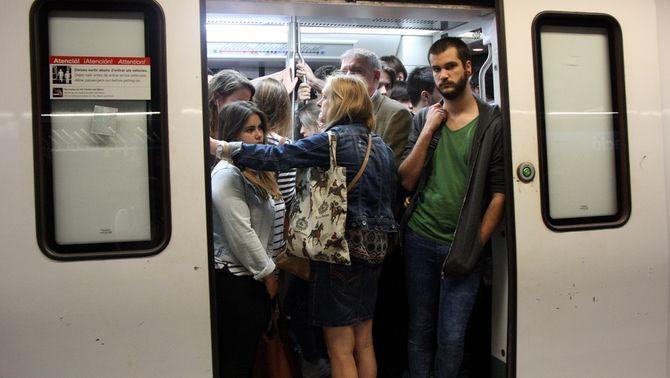 Els treballadors del metro tornaran a fer vaga parcial del 18 al 22 de juny