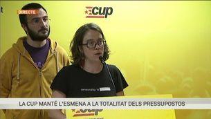 Roda de premsa íntegra de la CUP