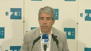 Declaracions Homs i Rufian sobre ANC