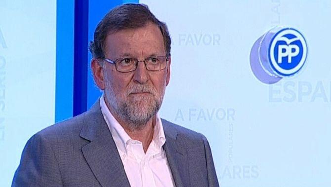 Membres de la Plataforma d'Afectats per la Hipoteca interrompen l'acte de campanya de Mariano Rajoy a Lleida