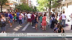 Guerra oberta al PSOE