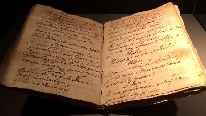 Mataró exposa el manuscrit d'Els Pastorets més antics de Catalunya, un text de 1766