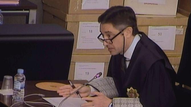 Emilio Sánchez Ulled, aquest dijous durant la segona sessió del judici del cas Palau