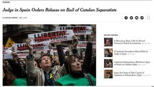 Junqueras i la decisió del Suprem als principals mitjans internacionals