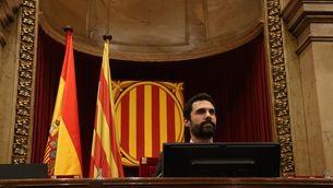 Roger Torrent, al Parlament de Catalunya, aquest dijous (ACN)