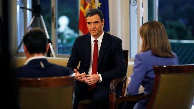 """Sánchez preveu reunir-se amb Torra al juliol i veu """"raonable"""" l'acostament dels presos"""