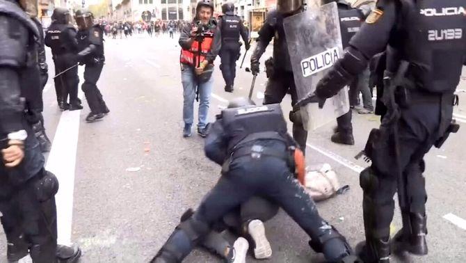 28 detinguts pels aldarulls en presó preventiva: denuncien mesures cautelars inusuals