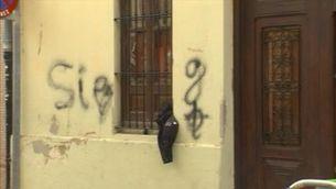 Unes pintades nazis van amenaçar el rodatge de la pel·lícula sobre Guillem Agulló