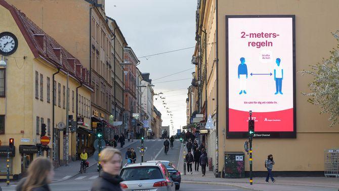 L'OMS avala el model de Suècia pel coronavirus: menys confinament i més civisme