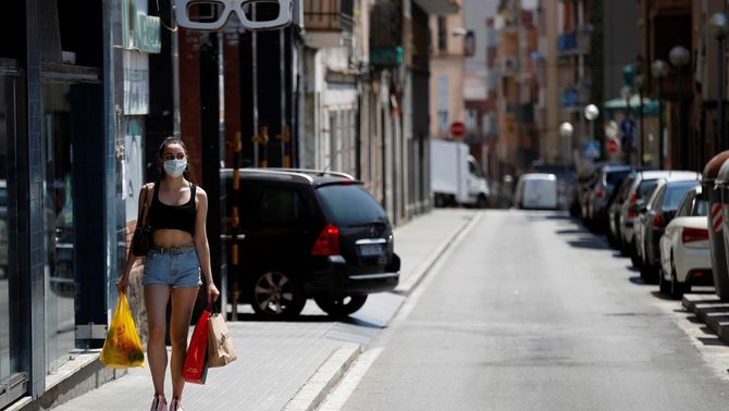 107 contagis a l'Hospitalet posen en alerta la segona ciutat més poblada i la més densa