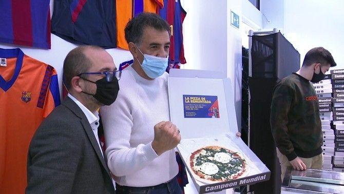 Jordi Farré canvia firmes per pizzes
