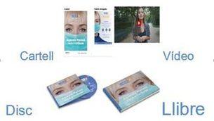 Covid-19, disc, llibre, sessions als centres educatius, vídeo divulgatiu, campanya: fulletó, cartell