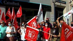 CaixaBank i els sindicats acorden l'acomiadament de 6.452 treballadors, un miler a Catalunya