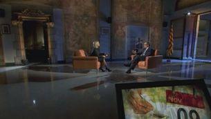 Crònica entrevista Artur Mas a TV3