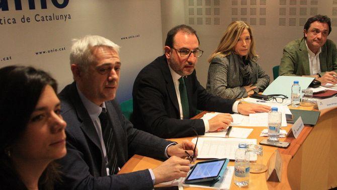 Ramon Espadaler, presidint la reunió del comitè de govern d'UDC (ACN)
