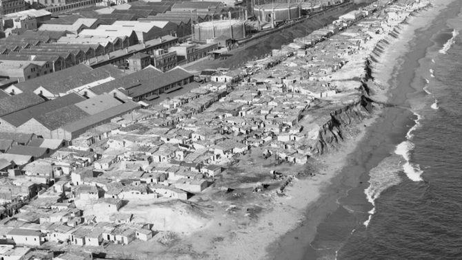 50 anys de l'enderroc del barri de barraques del Somorrostro