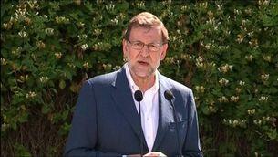 Mariano Rajoy diu que cada vot compta