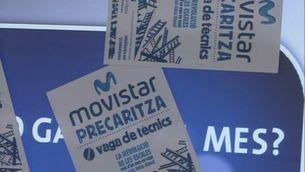 Inspecció de Treball destapa una trama irregular a la cadena de subcontractació de Telefónica
