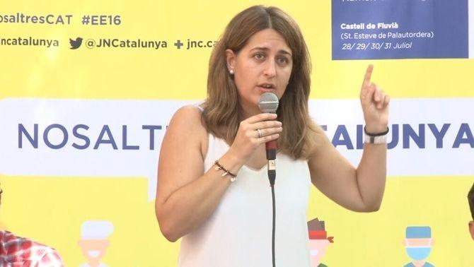 Marta Pascal adverteix la CUP que ningú ha de posar condicions al procés