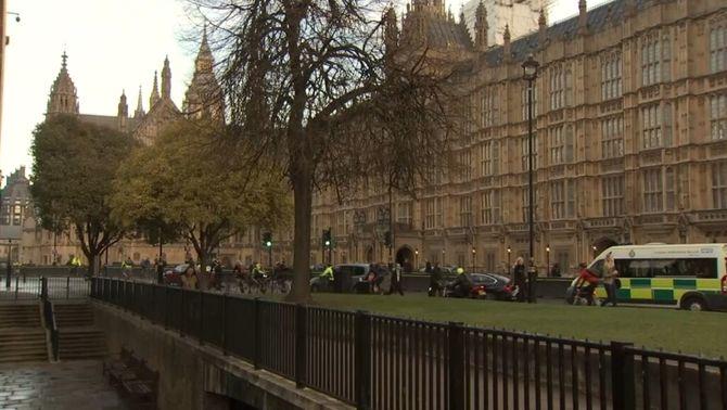 Exterior del Parlament britànic