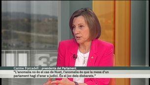 """""""L'entrevista del diumenge"""", amb Carme Forcadell"""