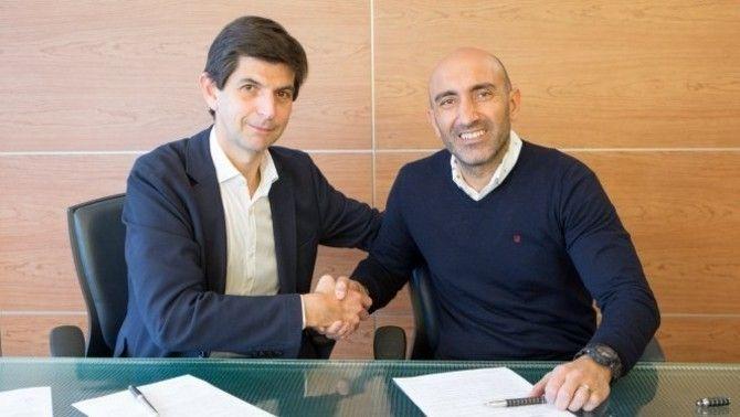 Abelardo, nou entrenador de l'Alabès