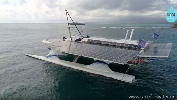 El catamaran Race for Water (Raceforwater.com)