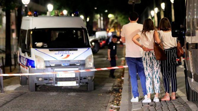 Efectius policials al lloc dels fets (Reuters)